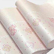 Umweltfreundliche Vlies-Tapete rosa Schmetterling