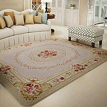 Umweltkomfort Wohnzimmer Couchtisch Teppich Schlafzimmer Teppich Bett Edge Decke