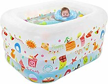 Umweltschutz Aufblasbare Badewanne / Pool Paddling Pool Sea Ball Pool für Kinder / Baby mit Elektropumpe (140 * 110 * 70cm)