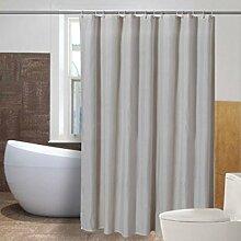 Umweltschutz Duschvorhänge, wasserdichtes Mildew Polyester Material Duschvorhänge 180x180cm, 200x200cm verblassen nicht ( größe : 180*180cm )