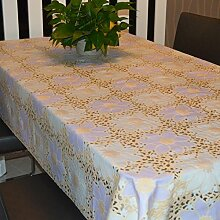 UmweltschutzPVCTischdecken/Fashion bukolischen Tischdecke/wasserdichte Tapete-D 136x136cm(54x54inch)