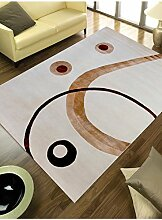 un Amour von Teppich 13940Kandla Teppich Moderne wolle weiß, Wolle, weiß, 200 x 300 cm