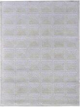 un Amour von Teppich 13945Kandla 1Teppich Moderne wolle weiß, Wolle, weiß, 200 x 300 cm