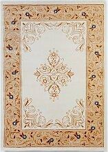 un Amour von Teppich 13968Pariser Wilde Teppich D 'ORIENT Wolle Weiß, Wolle, weiß, 250 x 300 cm
