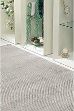 un Amour von Teppich 14023Himalaya Quicheformen Teppich Moderne wolle grau anthrazit, Wolle, grau, 120 x 180 cm
