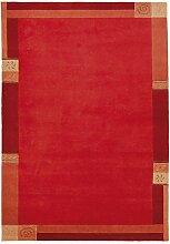 un Amour von Teppich 20641Limana Teppich Moderne wolle rot, rot, 250 x 300 cm
