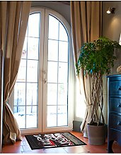 un Amour von Teppich 36392Sneakers Fußmatte Staubschutz Polyamid Rot 45x 75cm