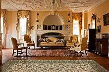 un Amour von Teppich 4555S Kazbah 11Teppich Polypropylen grün 300x 400cm