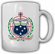 Unabhängiger Staat Samoa Wappen Emblem Kaffee Becher Tasse #13879