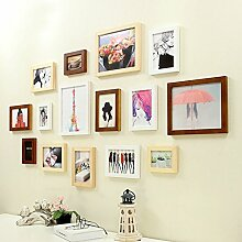 Unbekannt 15 Multi Bilderrahmen Set Moderne Holz