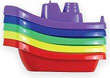 Unbekannt 1x5er Schiff-Set - Schwimmende Schiffe -