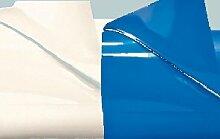 Unbekannt 2er Set Biertisch-Lackolie weiß+blau,