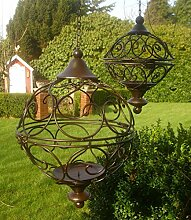 Unbekannt 2er Set DEKOKUGEL Ornament GARTENFIGUR