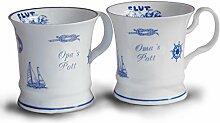 Unbekannt 2er Set Kaffeebecher Oma's Pott 6