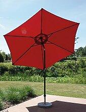 Unbekannt Alu-Marktschirm rot, 300 cm