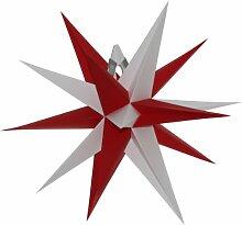 Unbekannt Annaberger Faltstern 35cm mit roten und