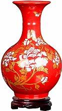 Unbekannt Antik Porzellan Keramik Vase Für