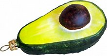Unbekannt Avocado Avokado Glas Christbaumschmuck