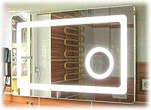 Unbekannt Badspiegel mit Led Beleuchtung und