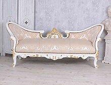 Unbekannt Barock Sofa Sitzbank Antik Prunksofa