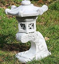 Unbekannt Beton Figur japanische Laterne H 31 cm