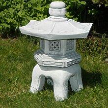 Unbekannt Beton Figur japanische Laterne H 40 cm