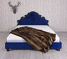 Unbekannt Bett 180x200cm Samtbett Ehebett