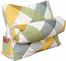 Unbekannt Bett dreieck Kissen mit Kopf Kissen Bett