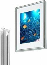 Unbekannt Bilderrahmen Kunststoff Silber 50x70 cm