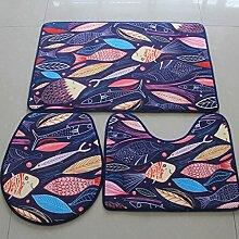 Unbekannt Blended Teppich Badezimmer Fußmatte