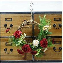 Unbekannt Blumen-Kranz-Mischblumen-Zweig-hängende