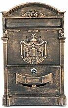 Unbekannt Briefkasten aus Aluguss Postkasten