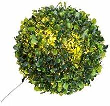 Unbekannt Buchsbaumkugel, 10 LEDs, D18