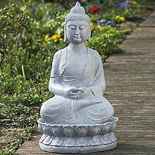 Unbekannt Buddha Outdoor Brunnen 71 cm inkl. Pumpe
