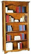 Unbekannt Bücherregal Holz Antik cm 120x40, h 210