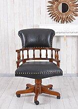 Unbekannt Captains Chair Drehstuhl Antik