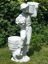 Unbekannt Dekofigur Gartenskulptur Deko Figur