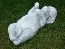 Unbekannt Dekoskulptur Skulptur Deko Figur Hund