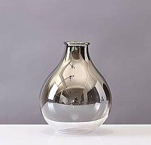 Unbekannt Einfache Moderne Silberne Glasvase