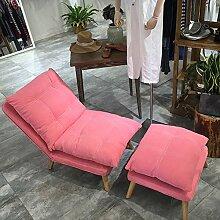 Unbekannt Europa Folding Sofa,Einfach Lässig Tatami Bequemsessel Sofa Sessel für Balkon Schlafzimmer -F