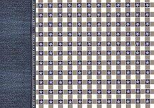 Unbekannt Exclusive Edition PRINT 373 Flat Woven Dekoration Teppich, Polyester, mehrfarbig, 135 x 195 x 2 cm