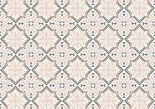Unbekannt Exclusive Edition PRINT 726 Flat Woven Dekoration Teppich, Polyester, mehrfarbig, 135 x 195 x 2 cm
