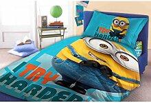 Unbekannt Faro Minions Kinder Bettwäsche 160x200