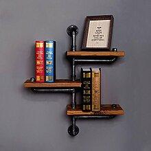 Unbekannt FEI Rack Regal Ordnungssystem für Regale Holz Metal mitEigenschaft ist Ohne Verschluss, Für Krawatten (Farbe : 1002)