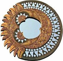 Unbekannt Feng Shui Spiegel Sonne und Mond -