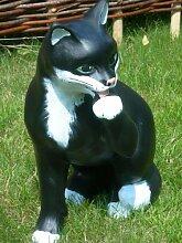 Unbekannt Figur Katze | Gartendeko | Garten Deko |
