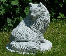 Unbekannt Figur Katze | Höhe 27 cm | Tierskulptur