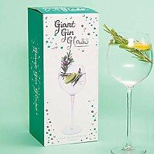 Unbekannt Fizz Creations Riesiges Gin-Glas,