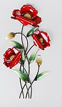 Unbekannt Formano Wandbild Mohnblume, 46 cm, Ro