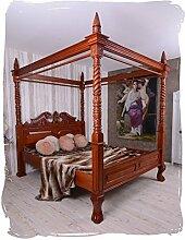 Unbekannt FRANZÖSISCHES HIMMELBETT Bett Antik